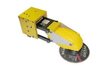 Utensile angolare di molatura compensato Complianced angle grinding tool