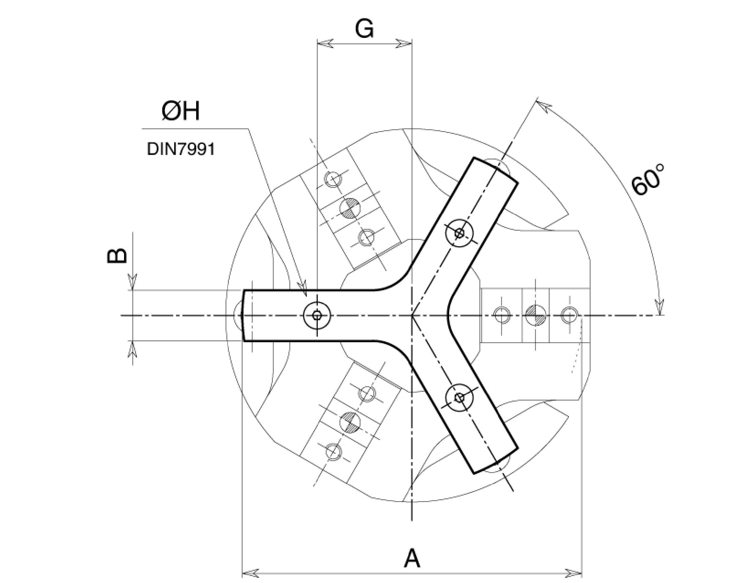 Dispositivo stabilizzatore pinze pneumatiche Workpiece stabilizer pneumatic grippers