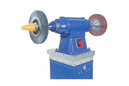 Stazione di smerigliatura e spazzolatura compensata Complianced brushing and grinding machine